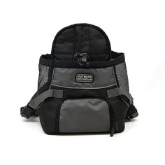 """Kyjen OH2513 Outward Hound Front Carrier Small Black 13"""" x 10"""" x 8"""""""