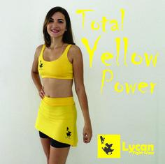 Conjunto W-Fighter Amarelo Toda a beleza e poder do Amarelo na sua pele! #LycanFightWear #LycanWFighter #LycanSports