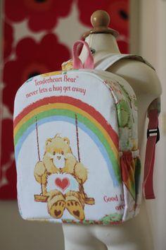 032b3b1327 Toddler BackPack Care Bear (Medium)