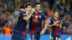 Messi to zase zařídil.. Barca-Spartak 3:2