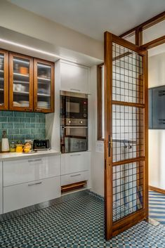 Modern Kitchen Wall Decor, Kitchen Room Design, Home Room Design, Modern Kitchen Design, Home Decor Kitchen, Interior Design Kitchen, Kitchen Ideas, Home Interior Accessories, Kitchen Modular