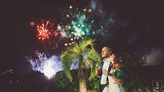 Fireworks  #wedding #weddingphotography #weddingphoto #weareinpuglia #fireworks #bride #groom #love #yolancris