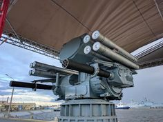 Military and Commercial Technology: Pantsyr-ME seaborne air defense missile and artillery system undergoes sea trials
