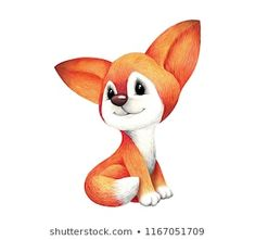 cute watercolor cartoon fox on white background Cute Images, Portfolio, Disney Characters, Fictional Characters, Whimsical, Watercolor, Disney Tattoos, Cartoon, Illustration