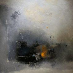 "Franck DUMINIL - artiste peintre - Espace Galerie Europia - "" ""Basileïa"" - 100x100, Huile sur toile"
