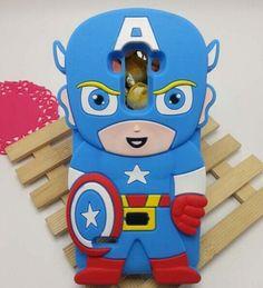 Lg G4 Captain America cartoon Cases Phone Cases For LG G2 D802 G3 D855 LG G4 62b5ae43c209