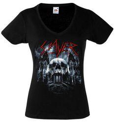 Slayer Shirt Band Thrash Metal Shirt Slayer by RollingTheRock, $14.45