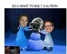 It doesn't have to be an Ultron...actually it has to be an ultron you have no choice