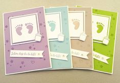 47 trendy baby shower card scrapbook stampin up Baby Shower Signs, Baby Shower Cards, Baby Boy Shower, Shower Gifts, Baby Girl Born, Dou Dou, Karten Diy, Baby Shower Decorations For Boys, New Baby Cards