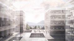 Lausanne, Floor Plans, Architecture, Big, Building, Arquitetura, Buildings, Architecture Design, Construction