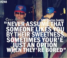 Chris Brown quote from tumblr~~~ this is sadly true  :b