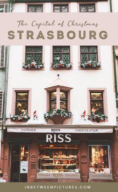 Strasbourg, France - The Capital Of Christmas Market