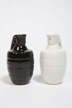 salt and pepper grenades