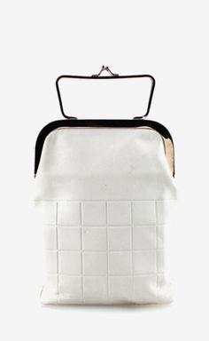 Chanel White Clutch