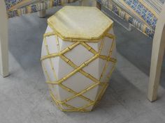 Palm Beach Faux Bamboo Garden Seat Palm Beach Regency, Bamboo Garden, Lake Park, Faux Bamboo, Garden Seating, Decor, Decoration, Dekoration, Inredning