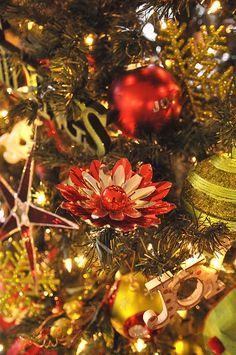 christmas decor 2013 your homebased mom find this pin and more on vintage tree light reflectors