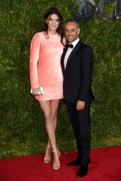 Kendall Jenner in Calvin Klein Collection with Francisco Costa - See more of the best looks from last night's 2015 Tony Awards red carpet.