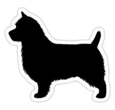 Australian Terrier Waterproof Die-Cut Sticker
