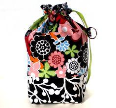 Flower Power Knitting Project Bag