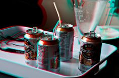 """Anaglyph 3D image. Whip out your red/cyan glasses! They """"should"""" be by your computer at all times...  ;)"""