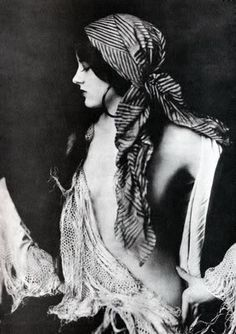 Virginia Biddle  Ziegfeld Follies Girl    The Ziegfeld Follies were a series of elaborate theatrical productions on Broadway in New York City from 1907 through 1931.  Inspired by the Folies Bergères of Paris, the Ziegfeld Follies were conceived and mounted by Florenz Ziegfeld    Photography by Alfred Cheney Johnston, the official photographer of the Zeigfeld Follies