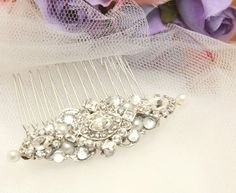 Hey, I found this really awesome Etsy listing at https://www.etsy.com/listing/173664771/bridal-hair-comb-wedding-hair-comb-faux