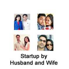 A Startup is a small company that is just started.Startup companies are initially funded by individuals.Successful Startup in India managed by couples.
