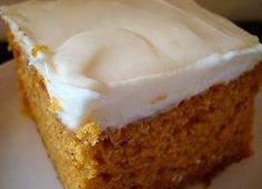 Mmm...Cafe: Pumpkin Bars