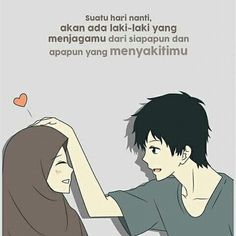 Cute Muslim Couples, Cute Couples, Muslim Quotes, Islamic Quotes, New Reminder, Ec Comics, My Life My Rules, Anime Muslim, Hijab Cartoon