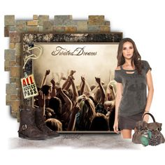 """""""Keatyn (Stalk Me) Inspired: Twisted Dreams Concert"""" by jessicaleila on Polyvore"""