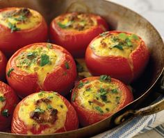 Shrimp-Stuffed Tomatoes Recipe | from Pierre Dukan's The Dukan Diet Cookbook | House & Home