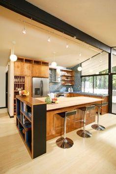 Mid-Century Modern Revival Kitchen by Shasta Smith - modern - kitchen - other metro - Shasta Smith - Allied ASID, CID #6478