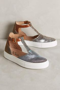 KMB T-Strap Sneakers - #anthrofave