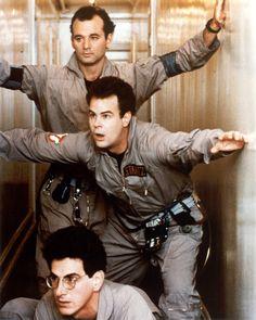 Bill Murray, Dan Aykroyd and Harold Ramis were the Ghostbusters.