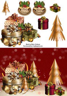 Made By Marie New A5 Card  http://www.craftsuprint.com/default.cfm?r=329897designer=1294