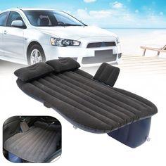 Inflatable Travel Camping Car Seat, Sleep Rest Mattress Air Bed w/ 2 Pillows 5cm   Home & Garden, Furniture, Beds & Mattresses   eBay!