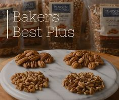 Ready to get baking? We have the perfect natural pecan combination for the dedicated Baker. Get 2 pounds of each of our award-winning Pearson Farm pecans. They're ready for your recipes! Georgia Pecans, Pecan Recipes, Almond, Stuffed Mushrooms, Healthy Eating, Nutrition, Baking, Natural, Giveaways