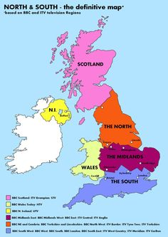 North & South - the definitive Map