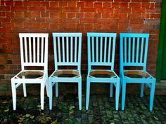 Krzesła ombre