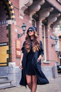 How to 'Wear' Black — Negin Mirsalehi