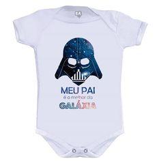Camiseta ou Body Melhor da Galaxia - leaoleaozinho.com.br