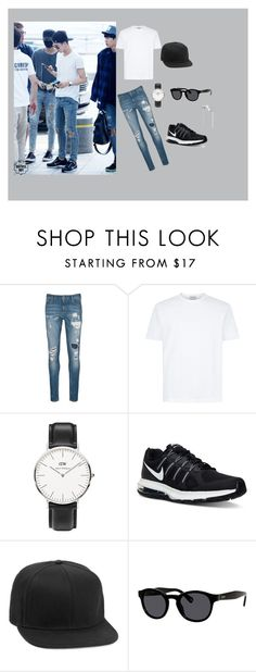 """""""Sehun"""" by ohthunj ❤ liked on Polyvore featuring Scotch & Soda, Daniel Wellington, NIKE, Topman, Jack Spade, Beats by Dr. Dre, airport, EXO, Sehun and exol"""