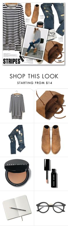 """LOVE YOINS"" by nanawidia ❤ liked on Polyvore featuring Raf Simons, Bobbi Brown Cosmetics and ZeroUV"