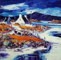 Turn of the tide, Isle of Lewis Colorbox, Vibrant Colors, Colours, Oil On Canvas, Landscape, Gallery, Painting, Art, Art Background