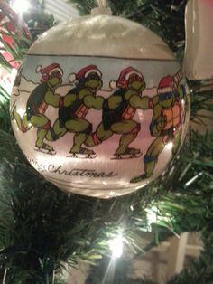 My favorite ornament (Teenage mutant ninja turtles)
