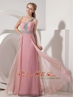 Buy rose pink single shoulder floor length trendy holiday dress with beading from seaside holiday dress collection, one shoulder neckline empire in peach color,cheap floor length dress with zipper back and for prom holiday formal evening . Glitz Pageant Dresses, Prom Dress 2014, Prom Dresses Online, Prom Party Dresses, Formal Evening Dresses, Quinceanera Dresses, Holiday Dresses, Dance Dresses, Dress Online