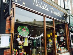 Lovely Niddle Noddle kids shop in Crouch End
