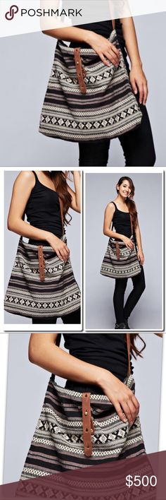 "PREVIEW Tapestry Crossbody Bag Natural Multi. - DESCRIPTION Tapestry cross body bag with leather closure and contrast canvas strap. FABRIC 80% COTTON, 20% POLYESTER. Size 18 1/2"" W X 16"" H -  inside pocket 7 1/4"" x 9""   Wash Cold - Dry Flat Bags Crossbody Bags"