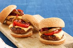 BBQ Grilled Steak Burgers recipe, as featured in the latest food & family magazine