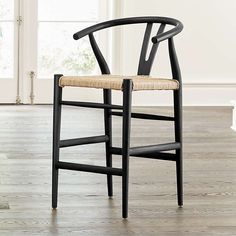 Black Counter Stools, Counter Stools With Backs, 24 Bar Stools, Kitchen Island Chairs With Backs, Kitchen Stools, Kitchen Dining, Unique Furniture, Custom Furniture, Kitchen Furniture